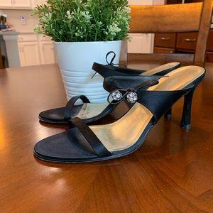 Anne Klein Satin Evening Sandals